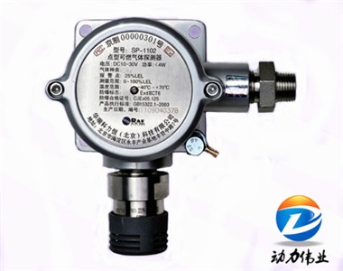 美国华瑞SP-1102 型固定式可燃气体检测器