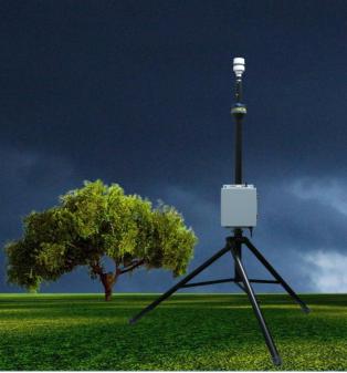 DL-W5型便携式自动气象站/气象五参数